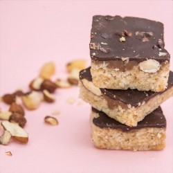 Raw 'S-Nutter' Nutty Caramel Shortbread