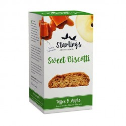 Toffee & Apple Biscotti