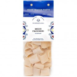 Italian Durum Wheat Mizza Paccheri Pasta