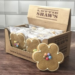 Gingerbread Flowers (Box of 14)