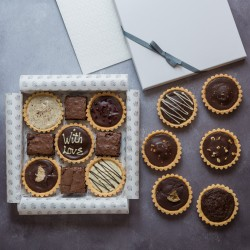 Personalised Gluten Free Millionaire's Pastry Selection Box