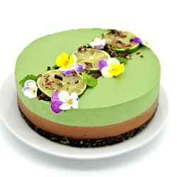 Raw Chocolate & Lime Cake
