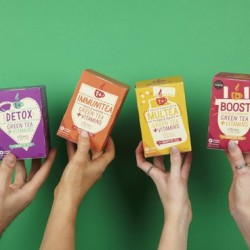 T+ Vitamin infused wellness teas ( full house bundle )