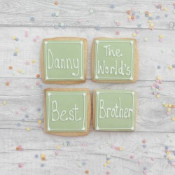 World's Best Brother Cookie Gift Set