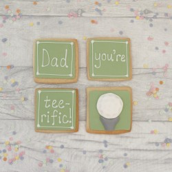 Teerific Golf Themed Cookie Gift for Dad