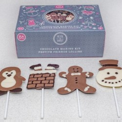 Festive Friends Chocolate Lolly Kit