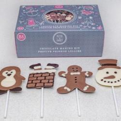 Festive Friends Chocolate Lolly Kit