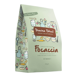 Gluten Free Garlic & Rosemary Focaccia Kit (300g)