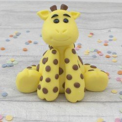 Edible Giraffe Cake Topper