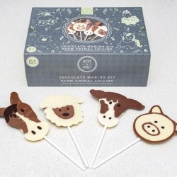 Farm Animal Chocolate Lolly Kit