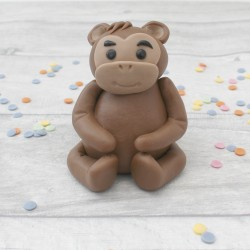 Edible Monkey Cake Topper