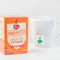 T+ Immunitea vitamin infused tea (4 pack)