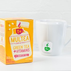 T+ Multea vitamin infused daily wellness tea (4 Pack)