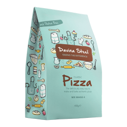 Davina Steel - Pizza Mix - 400 gms - makes 4 Pizzas
