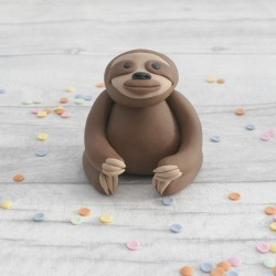 Edible Sloth Cake Topper