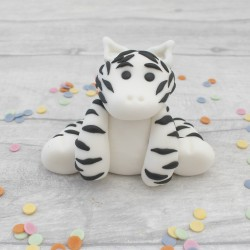 Edible Zebra Cake Topper