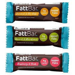 Low-Carb Keto Bars Taster Pack