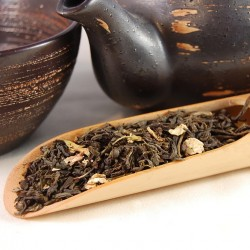 China Jasmine with Flowers Loose Leaf Tea