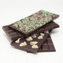 Dark Chocolate Bars - Set Of Four