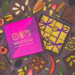 Raw Chocolate Gift Box - Discovery Range