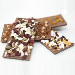 Milk Chocolate Bars - Set Of Four
