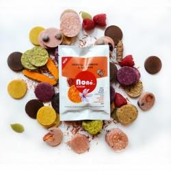 NEW Nono Cocoa Chocolate Snacks - ORANGE, SAFFRON & TURMERIC