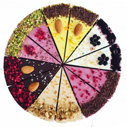Assorted Flavours Raw Cake