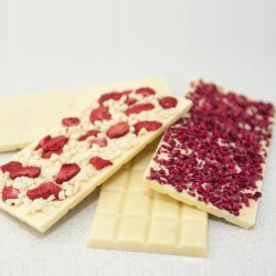 White Chocolate Bars - Set Of Four