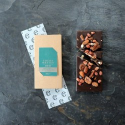 Maple Syrup Salted Caramel Nut Bar