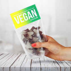 Vegan Cola Bottles Gummy Sweets Pouches