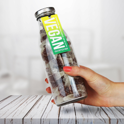 Vegan Cola Gummy Sweets Bottle