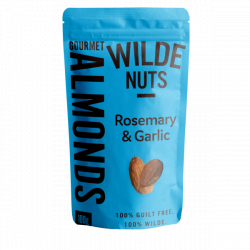 Garlic Rosemary Almonds