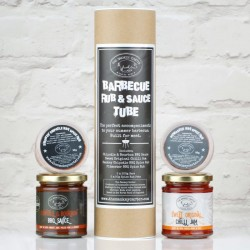 Barbecue Rubs & Sauces Tube Gift Set