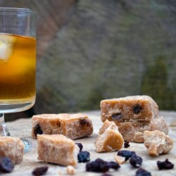 Handcrafted Rum & Raisin Fudge