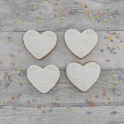 Diamond Wedding Anniversary Cookie Gift or Favours