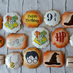Harry Potter Cookie Gift / Party Favours (Set of 15)