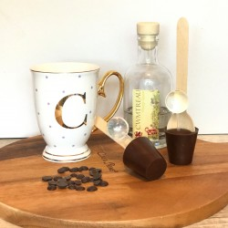 Three Dairy Free Hot Chocolate Stirrers containing Orange Liqeuer