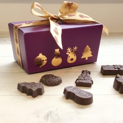 Dairy Free Milk Chocolate Festive Shapes