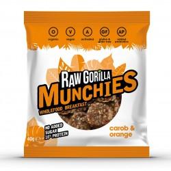 Raw Carob & Orange Munchies Snacks (Multipack)