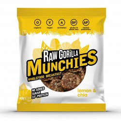 Raw Lemon & Chia Munchies Snacks (Multipack)
