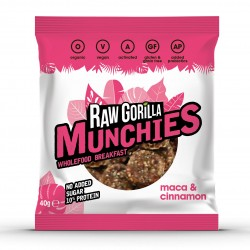 Raw Maca & Cinnamon Munchies Snacks (Multipack)