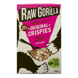 Vegan Raw Original Crispies with Tigernuts Breakfast Cereal
