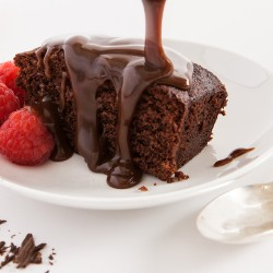 Sticky Chocolate Sponge Pudding