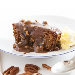 Sticky Toffee & Toasted Pecan Nut Pudding