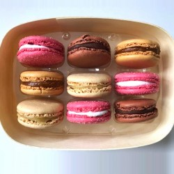 Macarons Desserts Range Selection Box