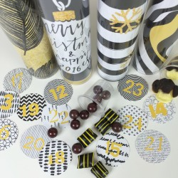 Liquorice Advent Calendar with Lots of Pots of Liquorice