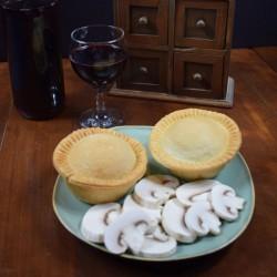 Drunken Mushroom Vegan Pies