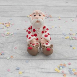 Father Christmas Cake Decoration