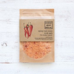 Rock Salt Infused with Spicy Red Chilli 70g Pouch