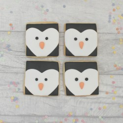 Penguin Christmas Cookies